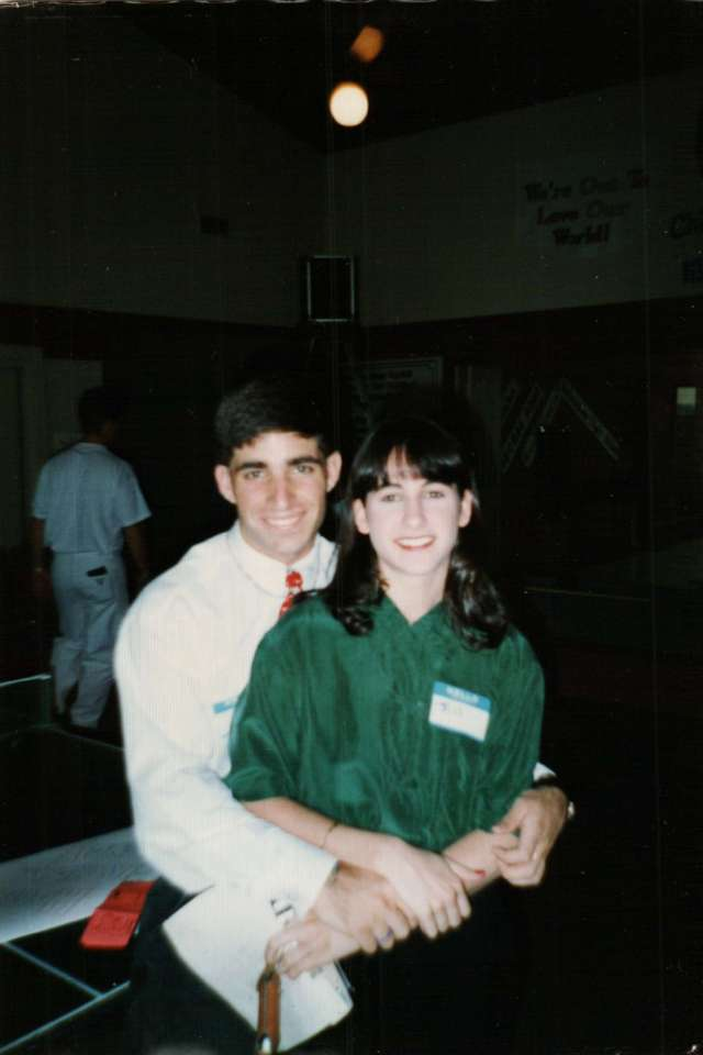 Jill and Steve at Wesley - The Early Days